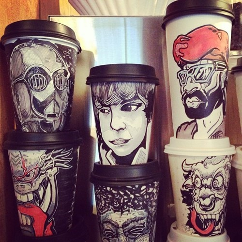 art coffee design