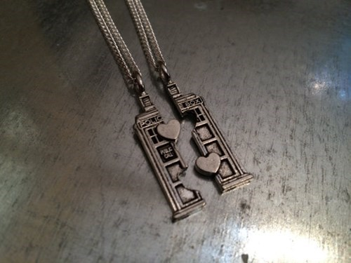 accessories,doctor who,for sale,friendship necklace