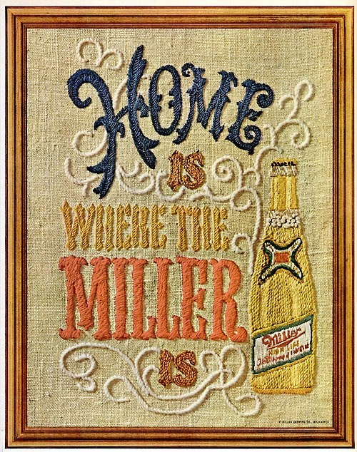 beer home funny miller light - 8018985216