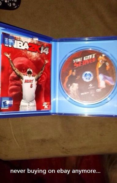 ebay video games trolling you got served nba2k14 360trickscope420blazingtemple - 8018996224
