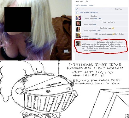 forever alone white knights failbook g rated - 8019038976