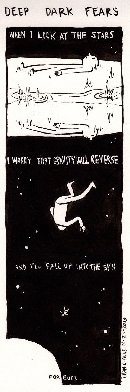 Gravity space yikes web comics - 8019102208