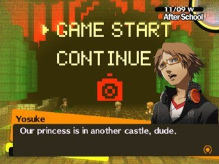 persona,princess is in another castle