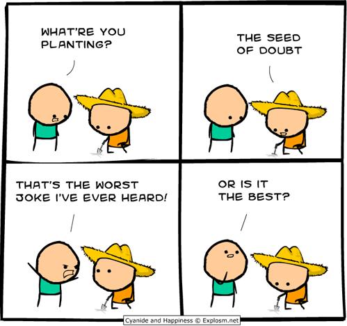 web comics doubt - 8019151360