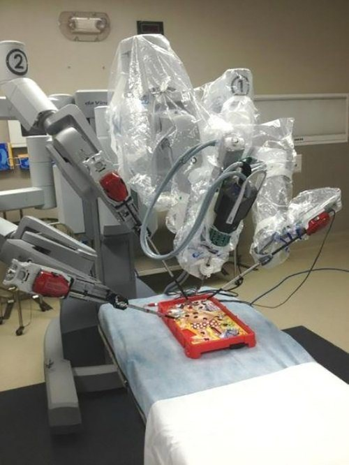 surgery,robots,operation,doctors' office,monday thru friday,g rated