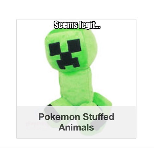 minecraft,seems legit,Pokémon