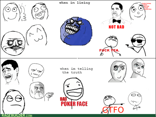 bad poker face,i lied