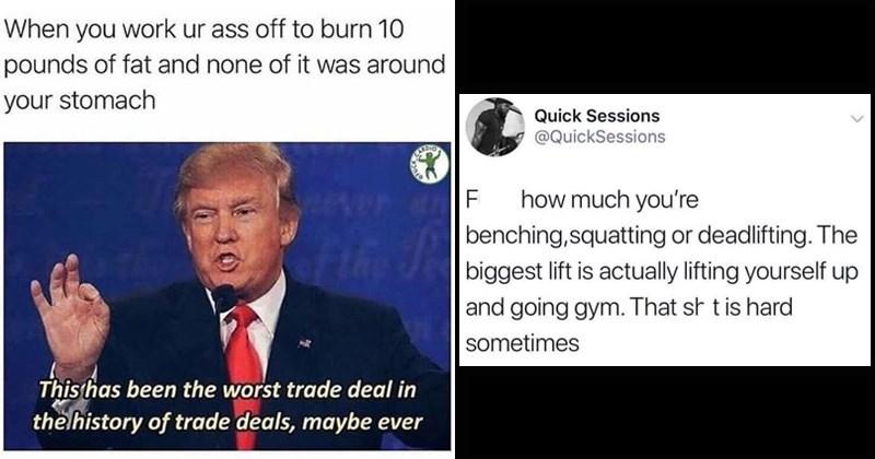 swole memes, workout memes, summer bod,