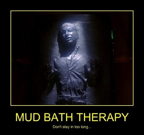 wtf mud bath wrinkles Han Solo