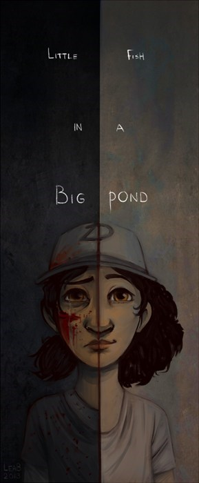 Fan Art the walking dead game clementine - 8019593728