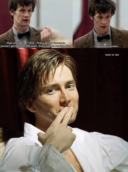 casanova,David Tennant,Matt Smith,11th Doctor