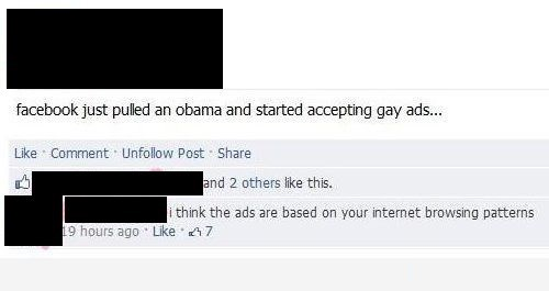 dumb people,obama,gay ads