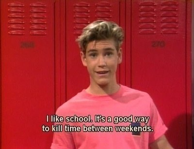 funny,weekends,saved by the bell,zack