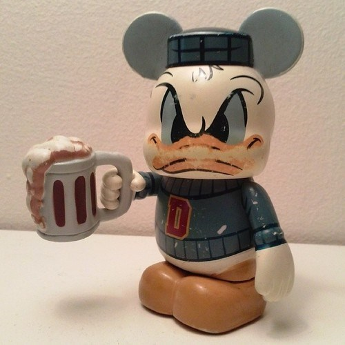 beer donald duck drunk funny frat - 8020386048