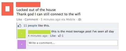 teenagers,wifi