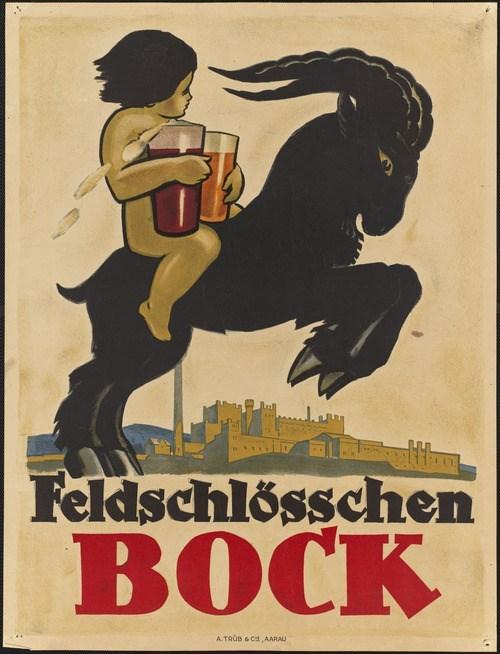 beer kid funny goat logo - 8020552704