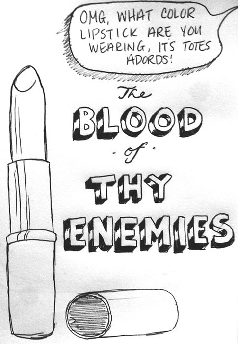 fashion enemies lipstick makeup - 8020621568
