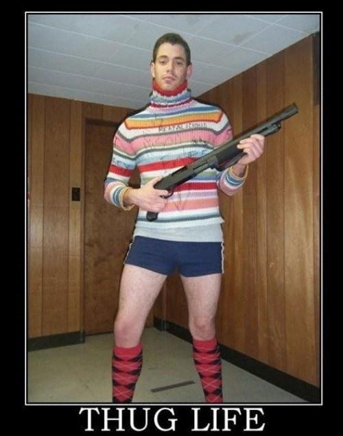 guns wtf thug life idiots funny - 8020694272