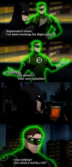 rich guy batman Green lantern - 8020696064