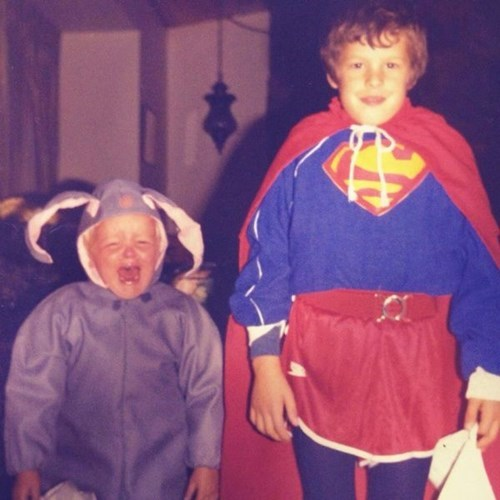 costume,kids,sibling rivalry,parenting,bunny,superman