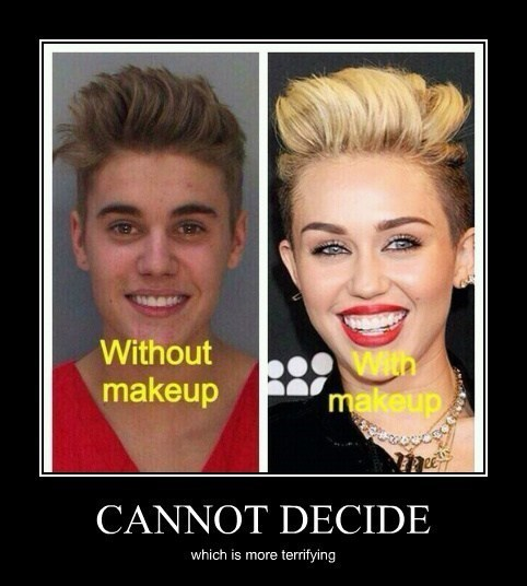 choice decide miley cyrus funny - 8020769792