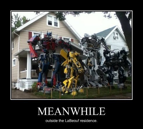 transformers,shia labeouf,wtf,house,funny