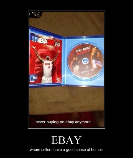 video games you got served funny ebay - 8020786176