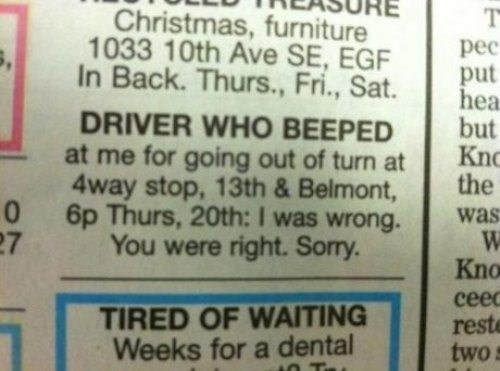 road rage newspaper