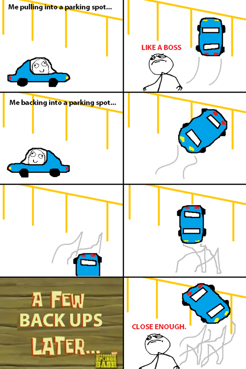 Like a Boss Close Enough driving parking - 8020842496