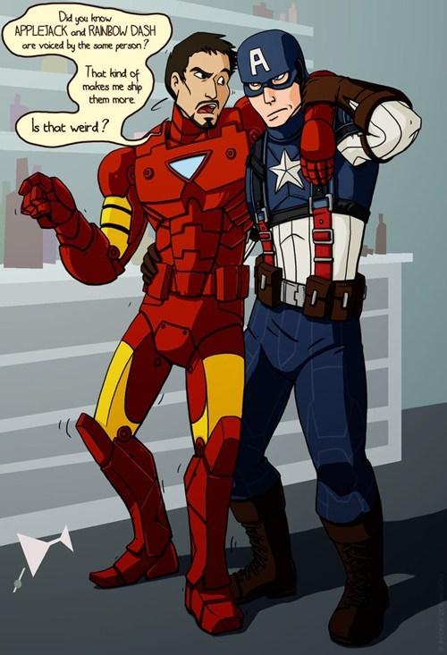 avengers brony captain america iron man - 8021051904