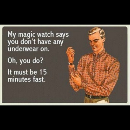 pickup line,watch,funny,magic