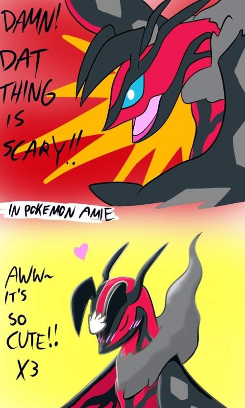 Pokémon yveltal pokemon-amie - 8021417216