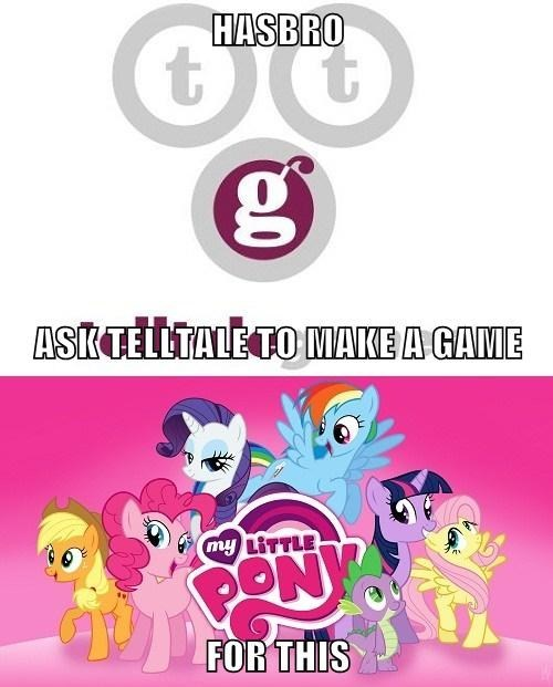 point and click MLP telltale games - 8021798400