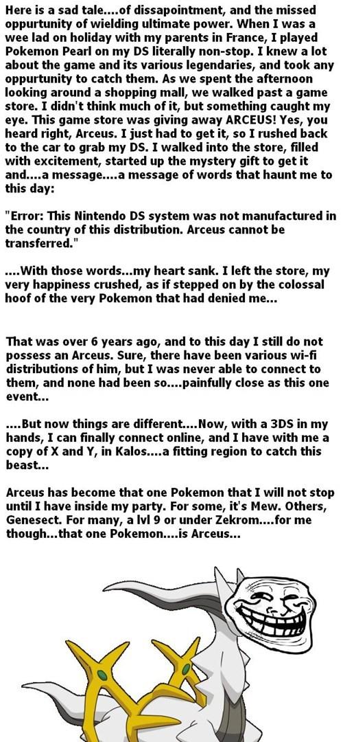 arceus feels Pokémon - 8022138624