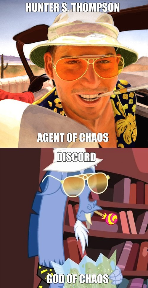 Hunter S Thompson,fear and loathing,discord