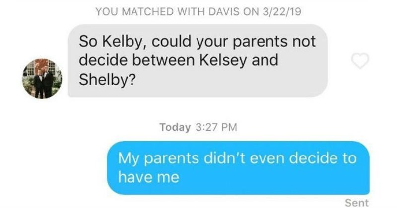 funny and sad tinder moments