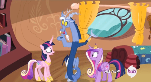 discord,princess cadence,freaky friday,twilight sparkle