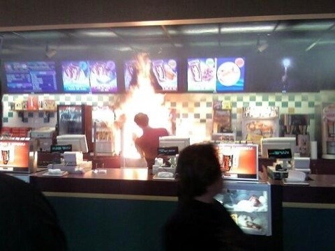 fire movies Popcorn theaters