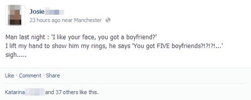 dudes rings facebook funny - 8022918400
