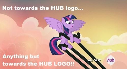 hub logo twilight sparkle tentacles