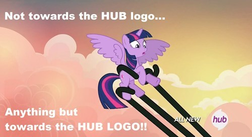 hub logo twilight sparkle tentacles - 8023317760