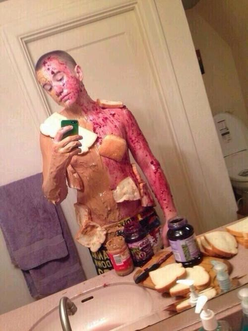 fashion,food,peanut butter and jelly,poorly dressed,g rated