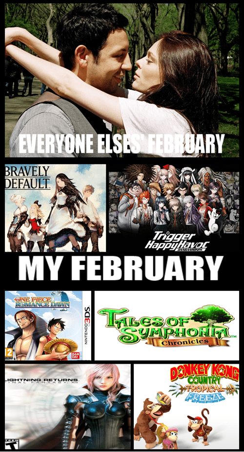february,video games,Valentines day