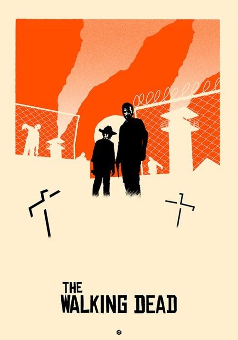 art poster The Walking Dead - 8024180480