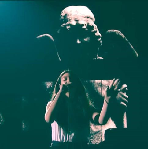 lorde,weeping angels,Grammys2014