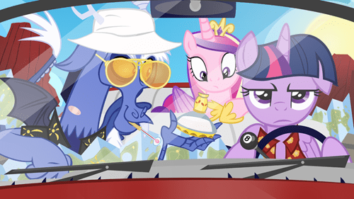Hunter S Thompson,discord,princess cadence,twilight sparkle