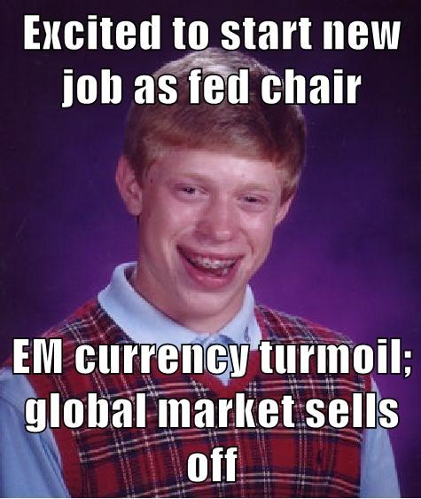 Excited To Start New Job As Fed Chair Em Currency Turmoil Global