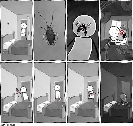 gross roaches web comics - 8024860416