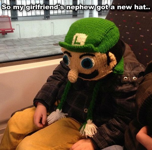 luigi hats video games poorly dressed g rated