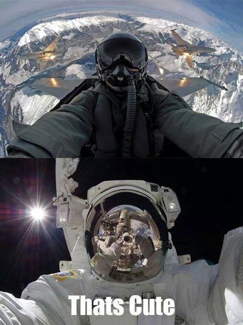 science astronaut funny space jet pilot - 8024914944